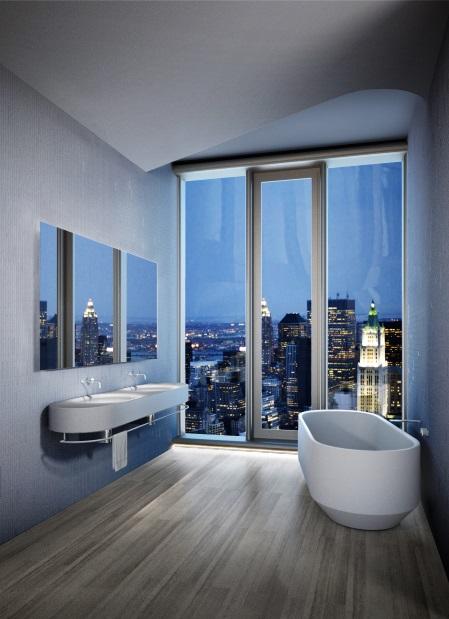 architektura, design, bydlení, koupelna